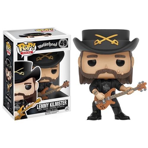 Funko Pop! Rocks 49: Motorhead – Lemmy Kilmister