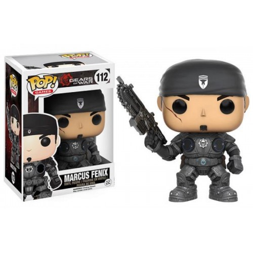 Funko Pop! Games 112: Gears of War - Marcus Fenix