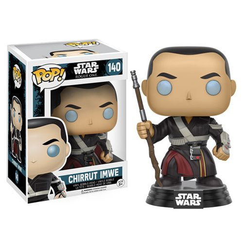 Funko Pop! Star Wars 140: Star Wars Rogue One - Chirrut Imwe