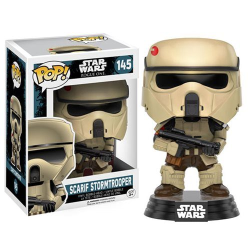 Funko Pop! Star Wars 145: Star Wars Rogue One - Scarif Stormtrooper
