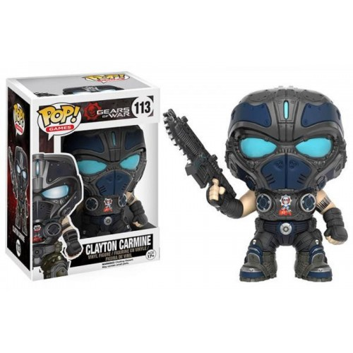 Funko Pop! Games 113: Gears of War – Clayton Carmine