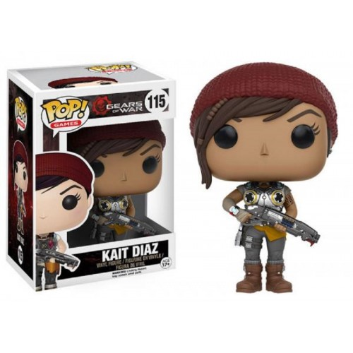Funko Pop! Games 115: Gears of War - Kait Diaz