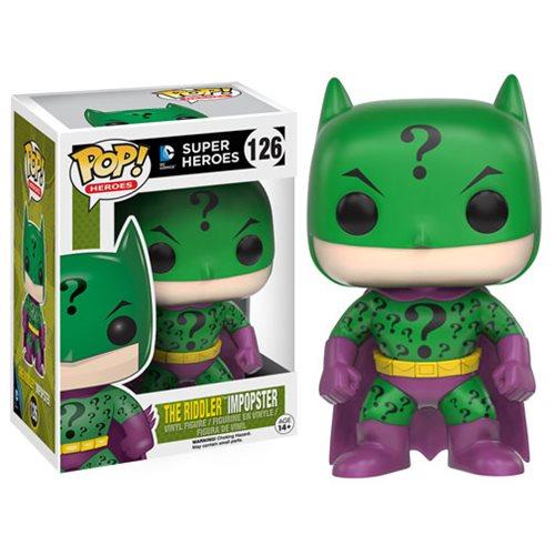Funko Pop! Heroes 126: DC Super Heroes - Impopster Riddler Batman