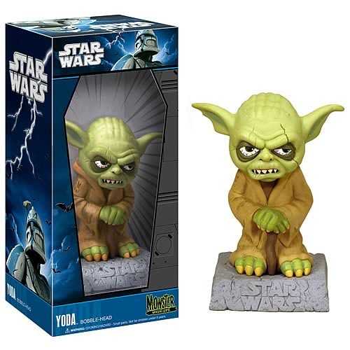 Bobble-head: Star Wars Monster Mash-Up - Yoda