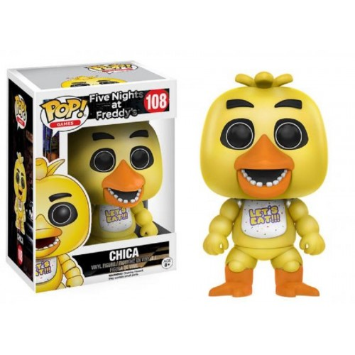 Funko Pop! Games 108: Five Night at Friday's - Chica