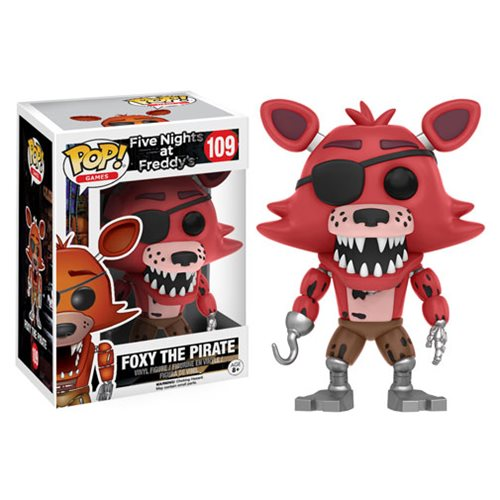 Funko Pop! Games 109: Five Nights At Freddy's - Foxy the Pirate