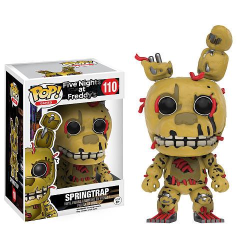 Funko Pop! Games 110: Five Nights At Freddy's – Springtrap