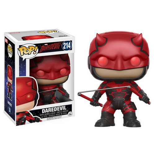Funko Pop! Marvel 214: Daredevil – Daredevil with Helmet