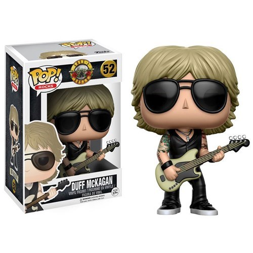 Funko Pop! Rocks 52: Guns n' Roses – Duff McKagan