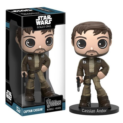 Wacky Wobbler: Star Wars Rogue One - Captain Cassian Andor