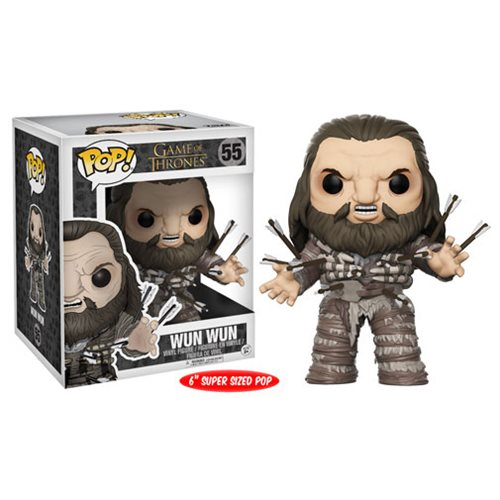Funko Pop! Game of Thrones 55: Wun Wun with arrows [Jumbo]