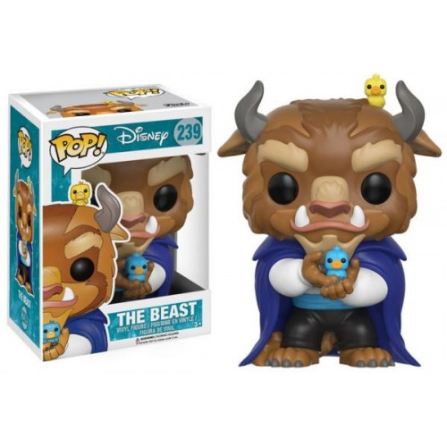 Funko Pop! Disney 239: Beauty and the Beast - The Beast (Winter)