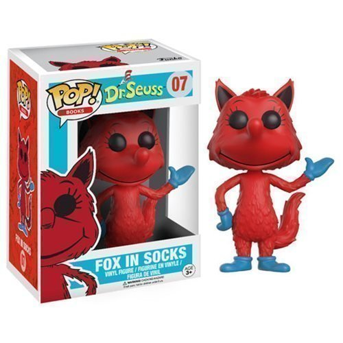 Funko Pop! Books 07: Dr. Seuss - Fox in Socks