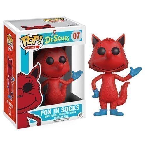 Funko Pop! Books 07: Dr. Seuss - Fox in Socks
