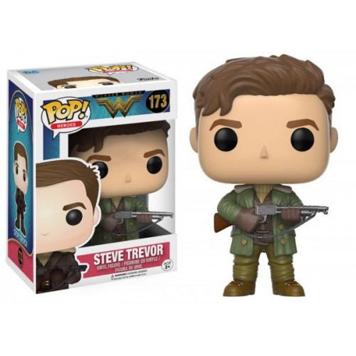 Funko Pop! Heroes 173: Wonder Woman - Steve Trevor