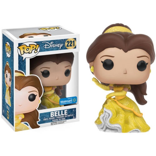 Funko Pop! Disney 221: Beauty and the Beast -Belle [Sparkle] (EX)