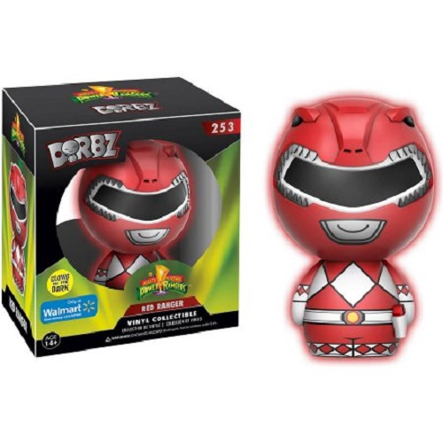 Dorbz: Mighty Morphin Power Rangers - Red Ranger GitD EX