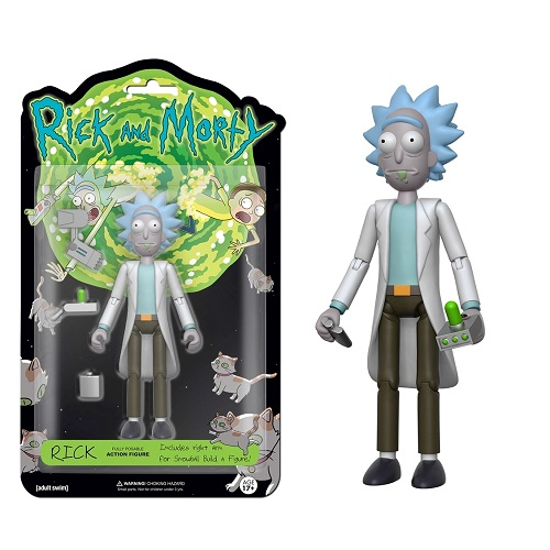 5 Articulated Action Figure: Rick & Morty – Rick