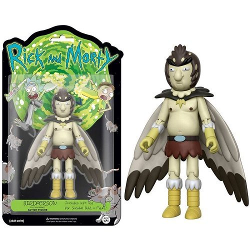 5 Articulated Action Figure: Rick & Morty - Bird Person