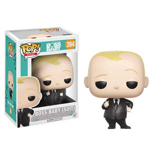 Funko Pop! Movies 394: Boss Baby - Baby (Suit)