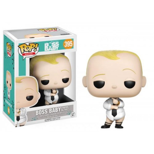 Funko Pop! Movies 395: Boss Baby - Baby [Diaper and Tie]