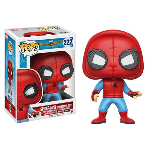 Funko Pop! Marvel 222: Spider-Man Homecoming – Spider-Man [Homemade Suit]