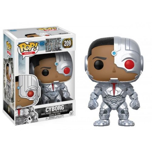 Funko Pop! Heroes 209: Justice League – Cyborg