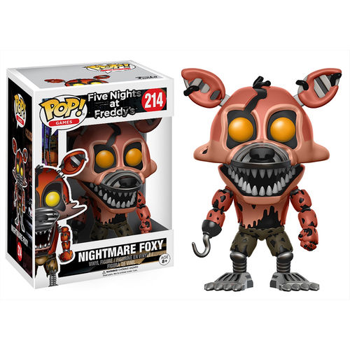Funko Pop! Games 214: Five Nights At Freddy's - Nightmare Foxy