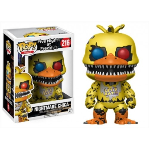 Funko Pop! Games 216: Five Nights At Freddy's – Nightmare Chica