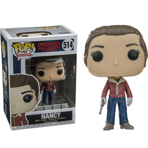 Funko Pop! TV 514: Stranger Things – Nancy with Gun