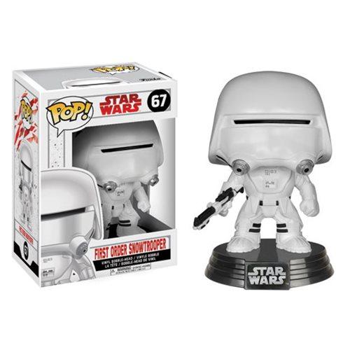 Funko Pop! Star Wars 67: The Last Jedi – First Order Snowtrooper