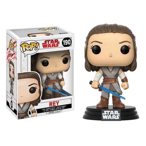 Funko Pop! Star Wars 190: The Last Jedi – Rey