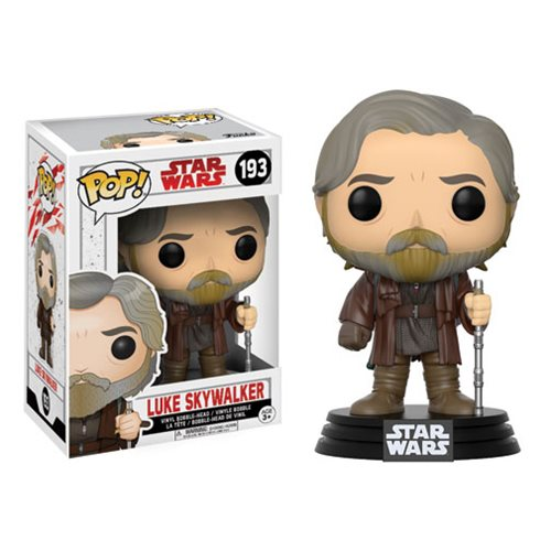 Funko Pop! Star Wars 193: The Last Jedi – Luke Skywalker