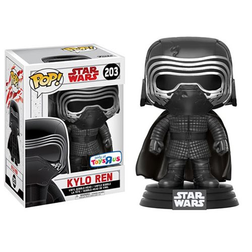Funko Pop! Star Wars 203: The Last Jedi - Kylo Ren [Masked] (TRU Ex)