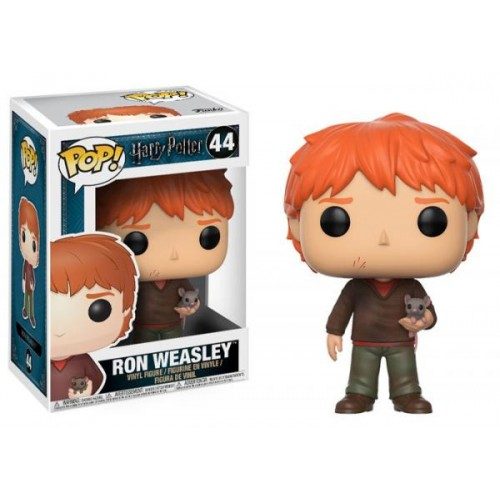 Funko Pop! Harry Potter 44: Ron Weasley with Scabbers