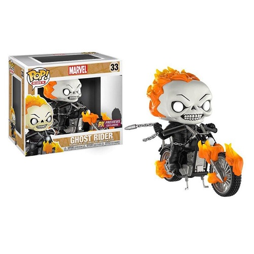 Funko Pop! Rides 33: Ghost Rider on Bike (iEX)