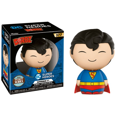 Dorbz 377: DC Super Hereos – Superman Comics #1 SSEX