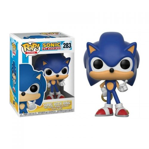 Funko Pop! Games 283: Sonic – Sonic with Rings