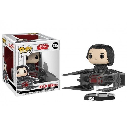 Funko Pop! Deluxe 215: Star Wars - Kylo Ren with TIE Fighter