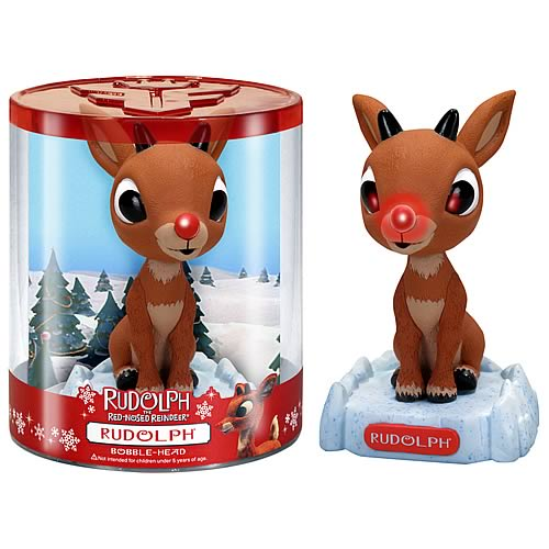 Wacky Wobbler: Rudolph the Red-Nosed Reindeer - Rudolph