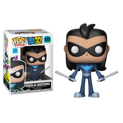 Funko Pop! TV 580: Teen Titans Go - Robin as Nightwing