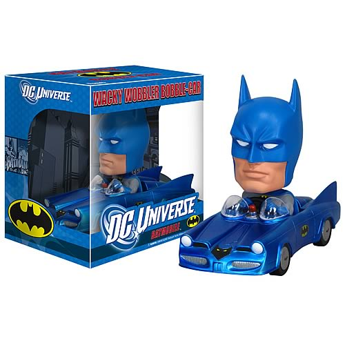 Bobble Car LE240: Batmobile Metallic (Blue Metallic)