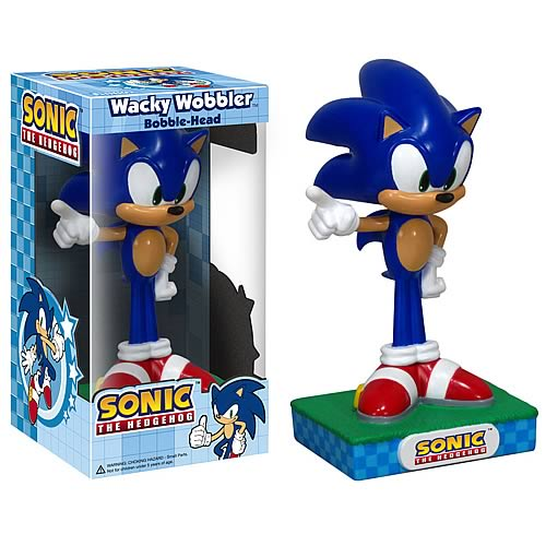 Wacky Wobbler: Sonic the Hedgehog - Sonic