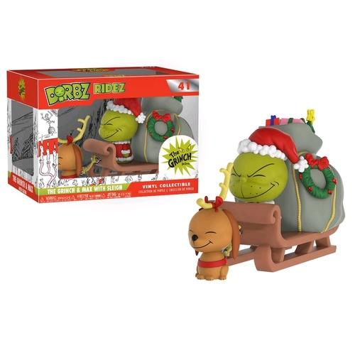 Dorbz Ridez 41: Dr. Seuss - The Grinch & Max on Sled