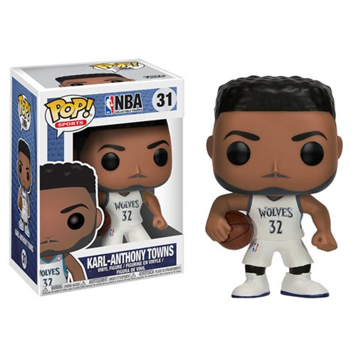 Funko Pop! NBA 31: Minnesota Timberwolves – Karl Anthony Towns