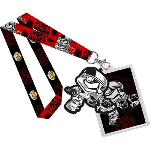 Lanyard: Star Wars The Last Jedi - FO Executioner with backer card