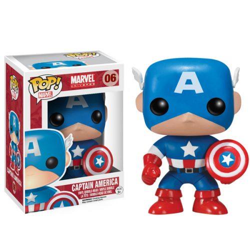 Funko Pop! Marvel 06: Captain America