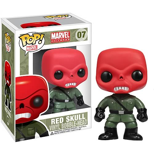 Funko Pop! Marvel 07: Red Skull