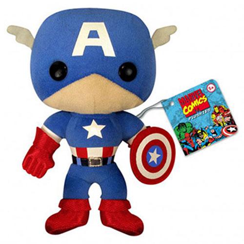 Plush: Marvel - Captain America (Classic)
