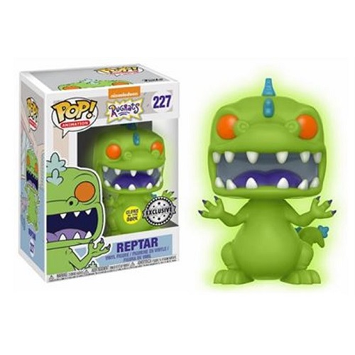 Funko Pop! TV 227: Rugrats - Reptar (GitD iEX)